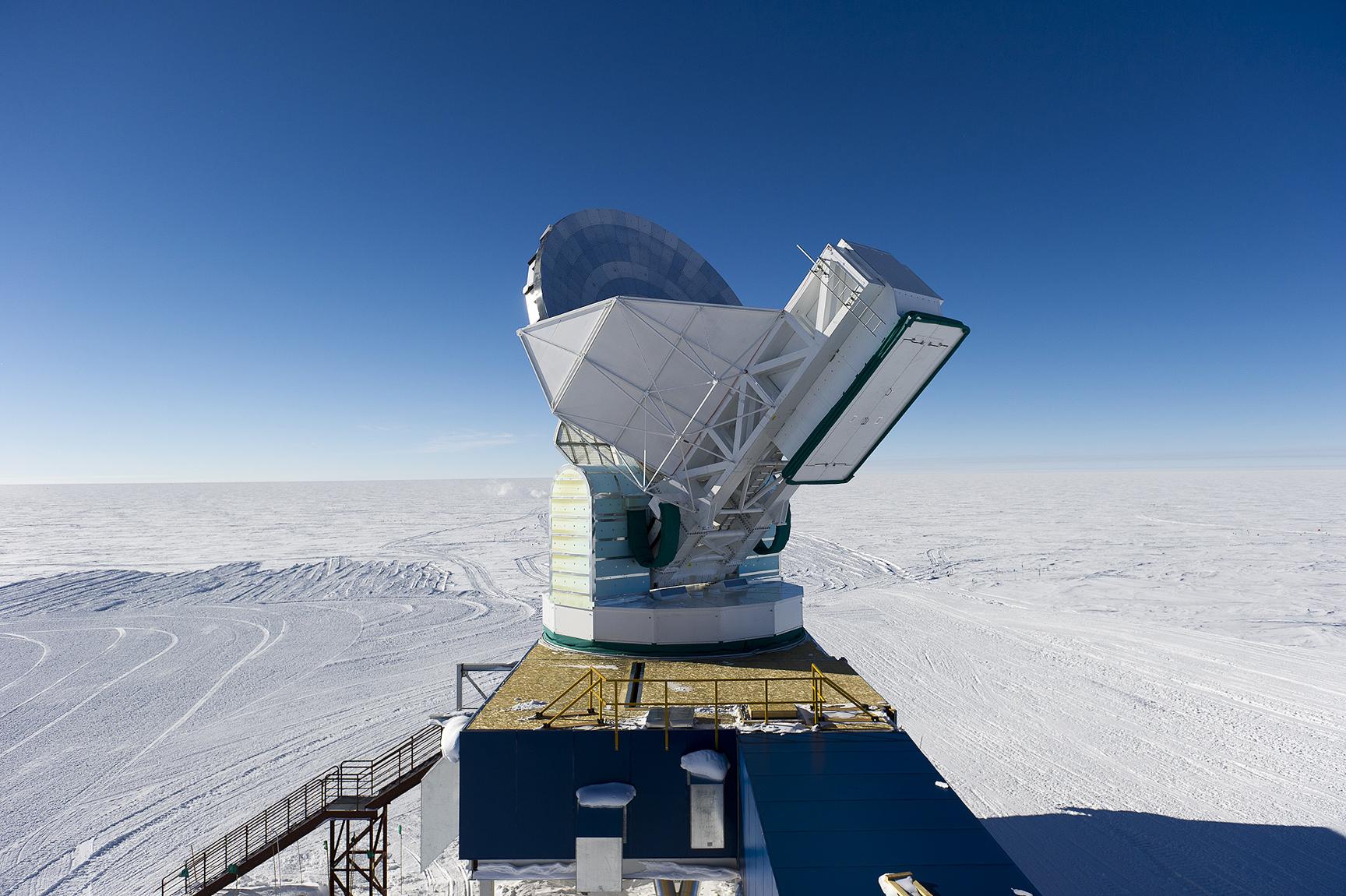 Bildergebnis für infrared telescope antarctica images