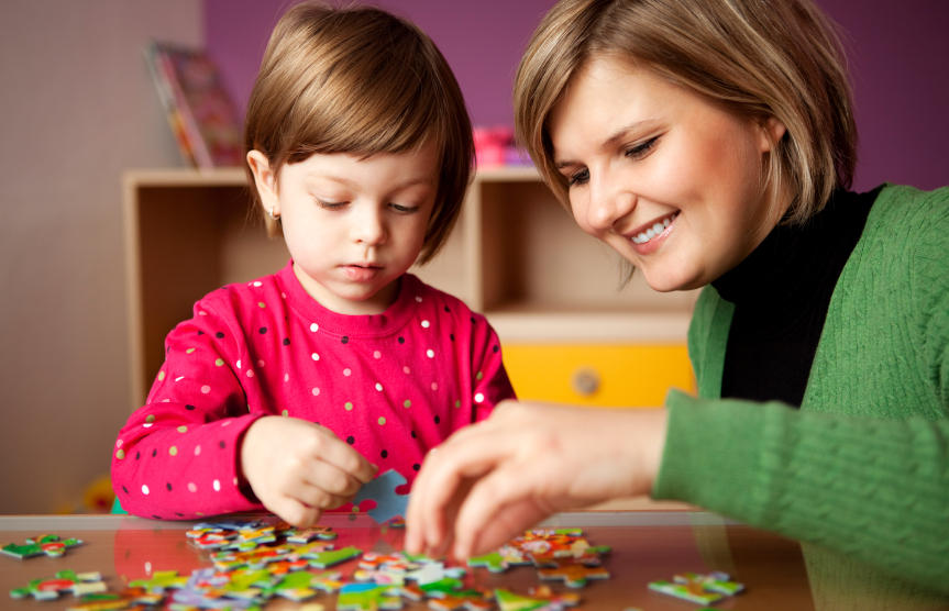 Image result for child solving puzzle