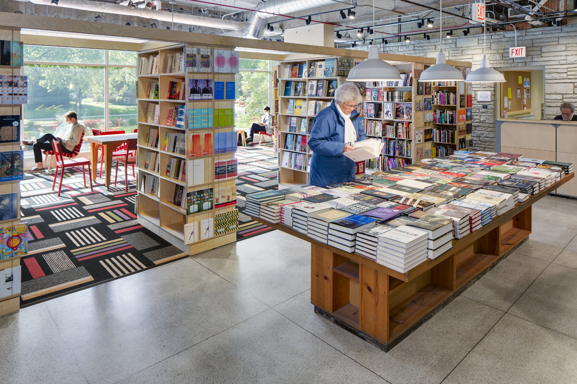Seminary co op bookstore 39 s new location wins interior for Books about interior design