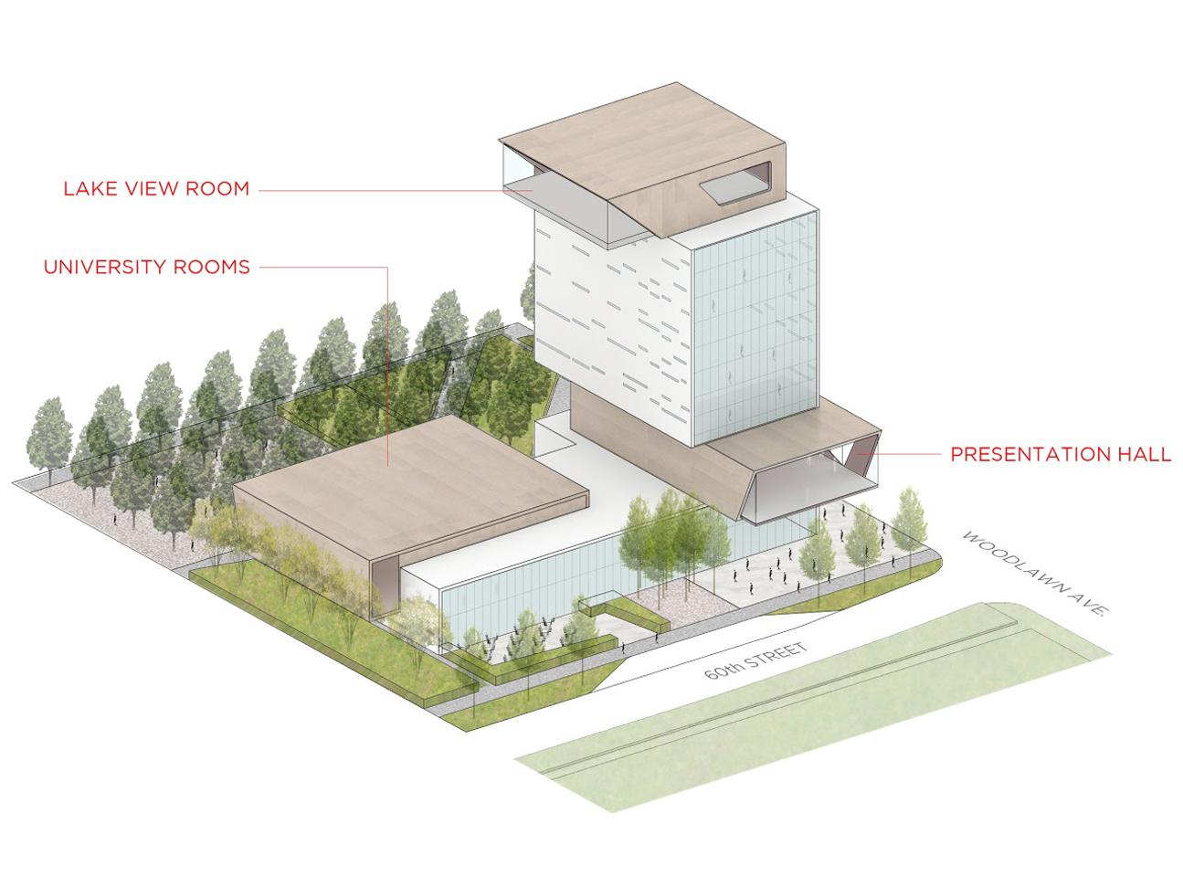 Design Unveiled For The New Rubenstein Forum Uchicago News