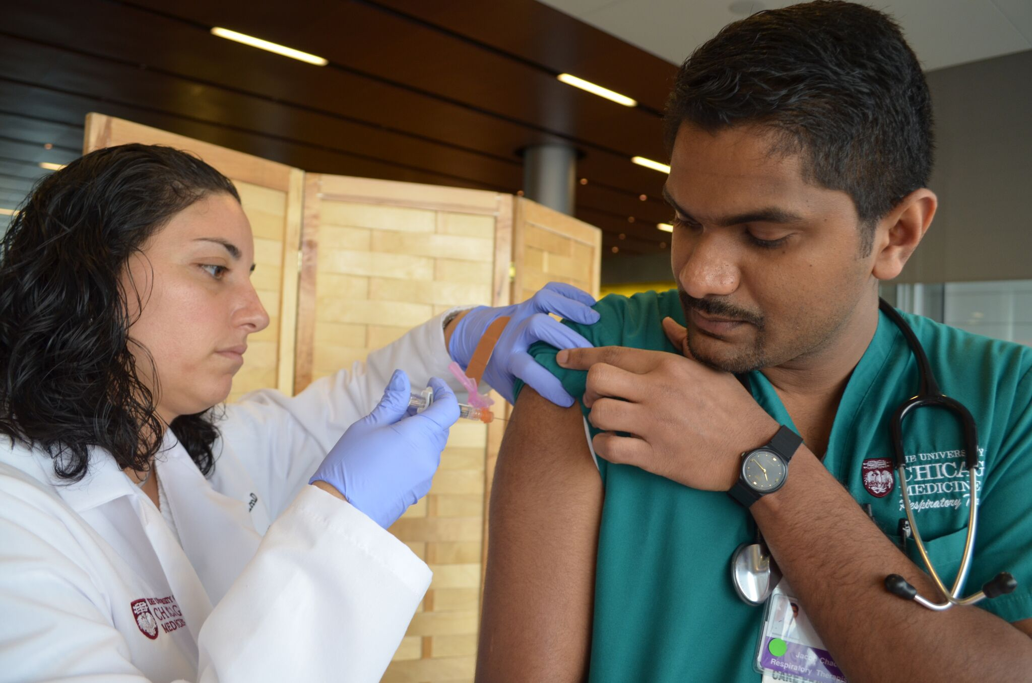 Clinic to study longterm effectiveness of MMR vaccine