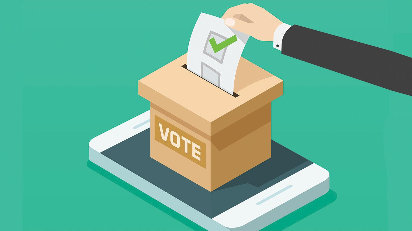 Voting on mobile devices increases election turnout | University of Chicago  News
