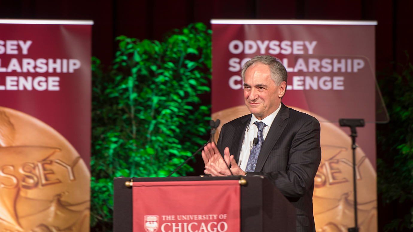 Zimmer at Odyssey event