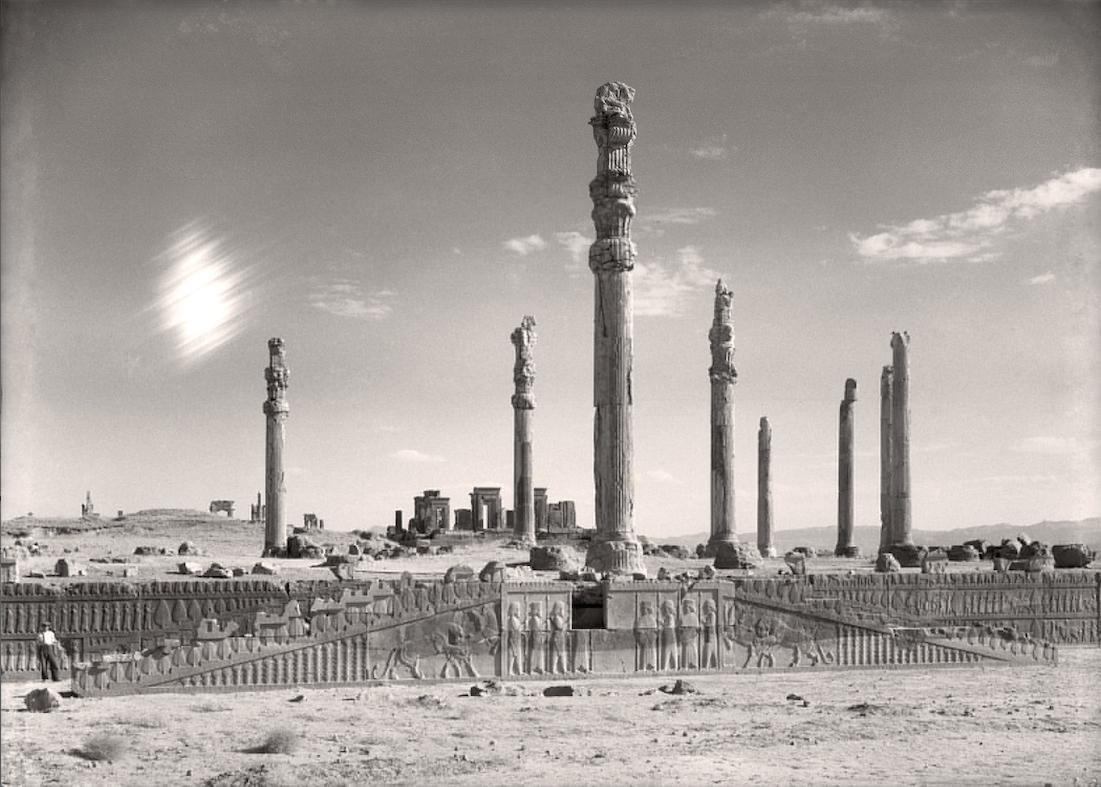 Exhibit Features Archival Images Of Persepolis A Royal Complex Of Ancient Persia