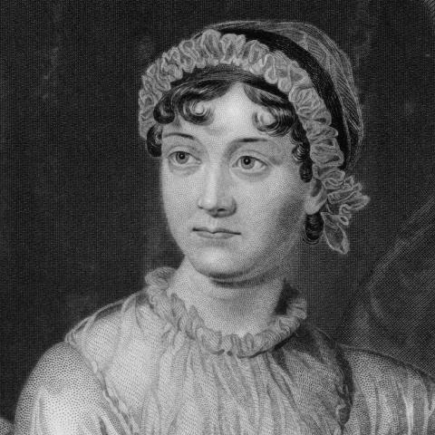 Jane Austen engraving