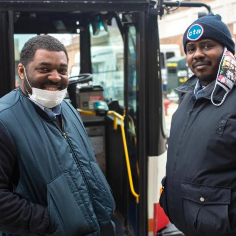CTA transit workers