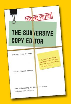 Cover of Subversive Copy Editor