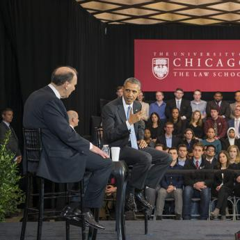 Obama at the Law School