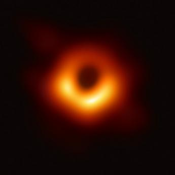 First image of supermassive black hole