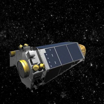 Kepler mission rendering