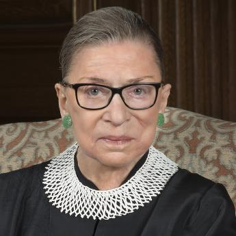 Justice Ruth Bader Ginsburg  official portrait