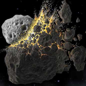 Asteroid crash