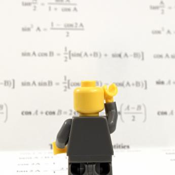Math anxiety Lego figure