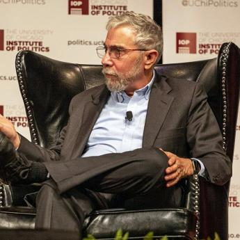 Paul Krugman at IOP event