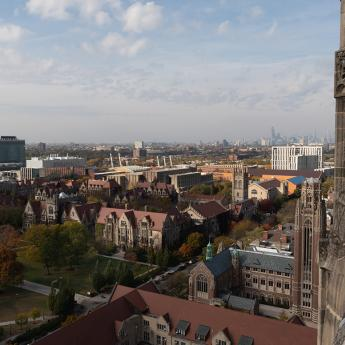 Campus view from Rockefeller Chalep Tower