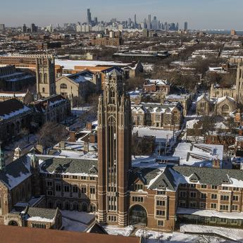 Campus aerial-winter