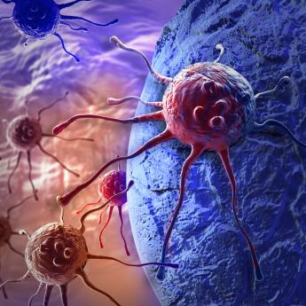 cancer cell illustration