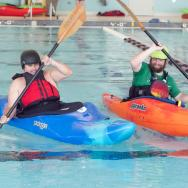 Training to kayak