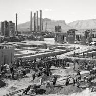 The ancient city of Persepolis in present-day Iran